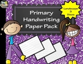 Primary Handwriting Paper Pack - Landscape