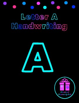 Primary Handwriting Practice - Letter A