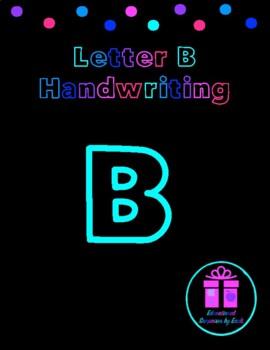 Primary Handwriting Practice - Letter B