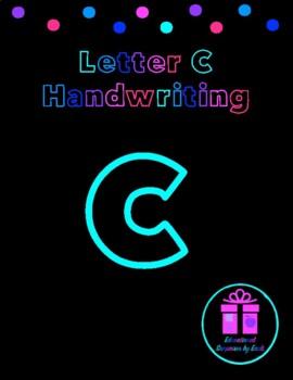 Primary Handwriting Practice - Letter C