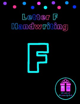 Primary Handwriting Practice - Letter F