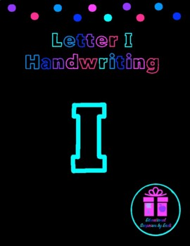Primary Handwriting Practice - Letter I