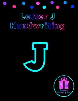 Primary Handwriting Practice - Letter J