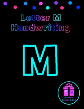 Primary Handwriting Practice - Letter M