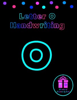 Primary Handwriting Practice - Letter O