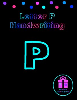 Primary Handwriting Practice - Letter P