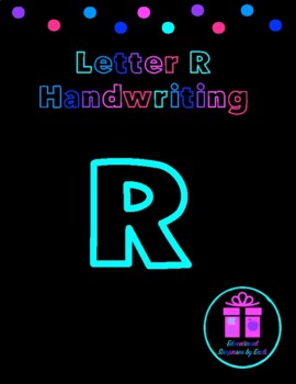 Primary Handwriting Practice - Letter R
