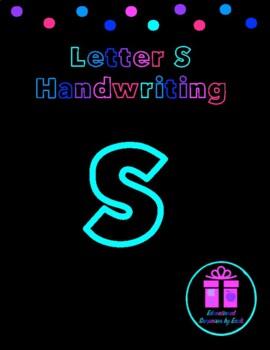 Primary Handwriting Practice - Letter S