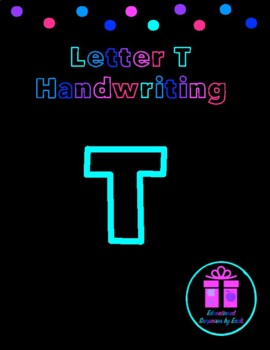 Primary Handwriting Practice - Letter T