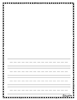 Primary Handwriting and Writing Templates