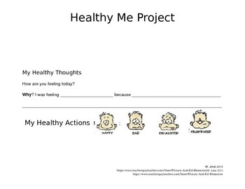 Primary Healthy Me Project