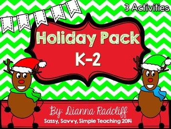 Primary Holiday Pack {K-2}