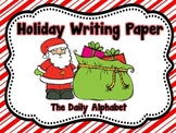 Primary Holiday Writing Paper