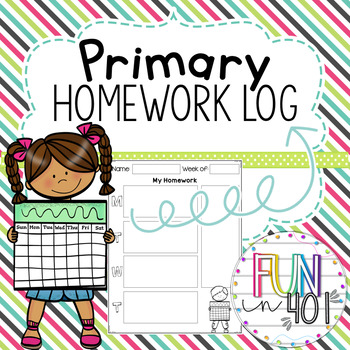 Primary Homework Log