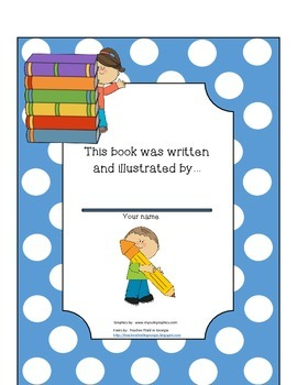 Primary How-To Writing Book Printable Common Core Aligned