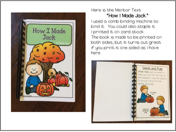 PROCEDURAL TEXT - Primary How To Writing How to Carve a Pumpkin
