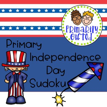 Primary Independence Day Sudoku