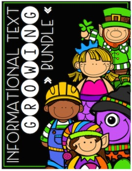 Primary Informational (Non-Fiction) Text Growing Bundle Pack {#TeacherMom}