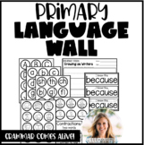 Primary Interactive Language Wall