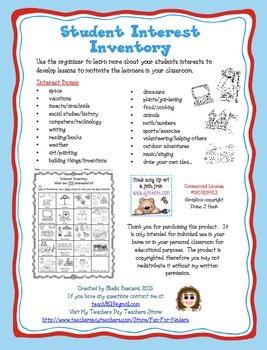 Primary Interest Inventory