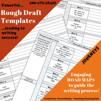 "2nd-5th Grades: Writing Mastery with ""Rough Draft"" Templates"