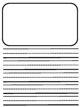 Primary Journal Writing Paper