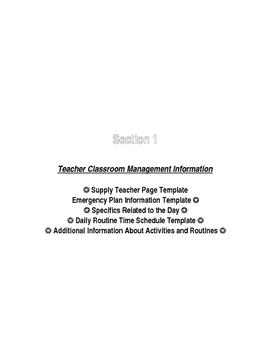 Primary (K-3) Resource Information Book