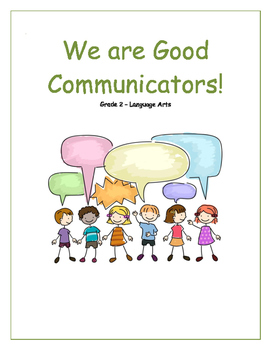 Primary Language Arts Unit - Good Communication