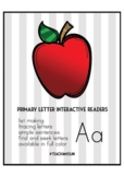 Primary Letter Interactive Reader - Aa