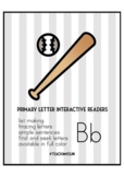 Primary Letter Interactive Reader - Bb