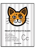 Primary Letter Interactive Reader - Cc