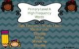Bundle, Hight Frequency Words Flash Cards, Bingo Assessmen
