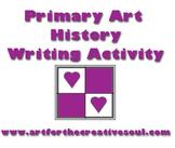 Primary Level Art History Writing Activity