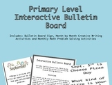Primary Level Interactive Bulletin Board