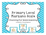 Primary Level Marzano Scale Posters: Thumbs up, Thumbs dow