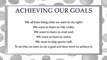 """Little Engine that Could"" Goal Setting LESSON 3 video links Effort Study Skills"