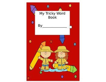 Primary Level Tricky Word Student Book