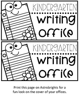 Primary Level Writing Office
