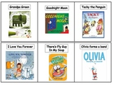 """Primary Library Game: Book Title """"Go Fish"""""""