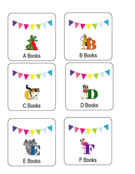 Primary Library Labels