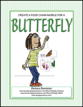Primary Life Science: Food Chain Mobile for a Butterfly