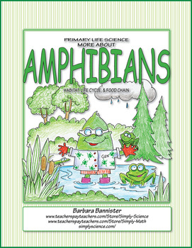 Primary Life Science: More About Amphibians