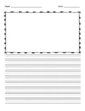 Primary Lined Writing Paper