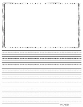 primary lined writing paper 5 sizes 2 formats