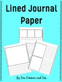 Primary Lined Writing Paper with Picture Boxes