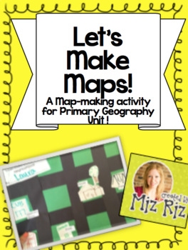 Primary Map-Skill Activity for Geography Unit