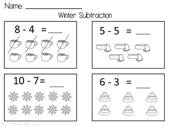Fall Math Centers / Winter Math / Spring Math