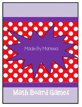 Primary Math Board Games