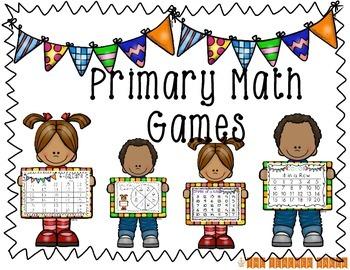 {Primary} Math Center Games