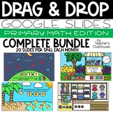Primary Math Drag & Drop Complete Bundle - Distance Learning